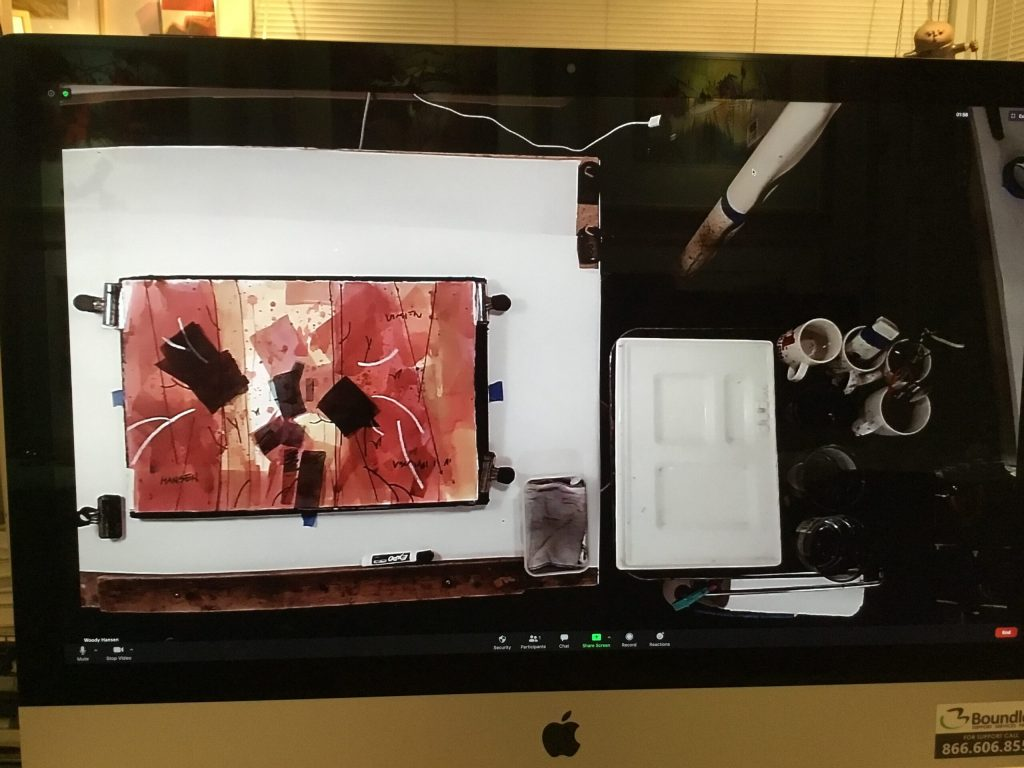Woody Hansen Photo of Zoom Desktop Imagae