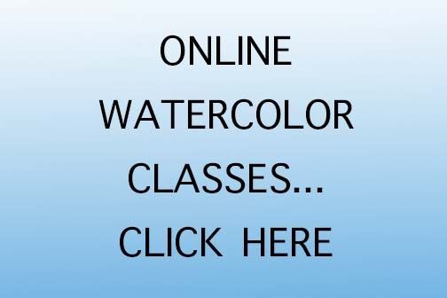 Woody Hansen Online Watercolor Classes Promo
